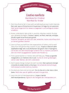 Torrance. Creative Manifesto